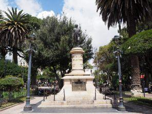 La Plaza 25 de Mayo de Sucre