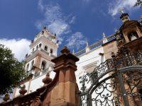 Aperçu de la tour de la cathédrale de Sucre