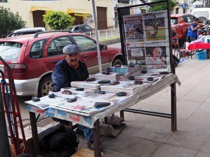 Stand de journaux à Sucre