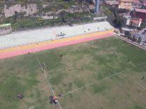 Vue aérienne de La Paz à bord du téléphérique