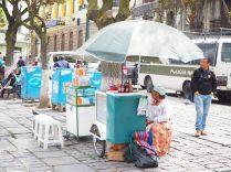 Vendeur ambulant, La Paz