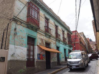 Facade, La Paz