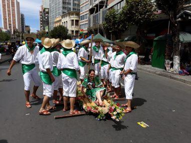 Une troupe de spectacle, La Paz