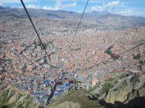 Vue sur La Paz depuis El Alto