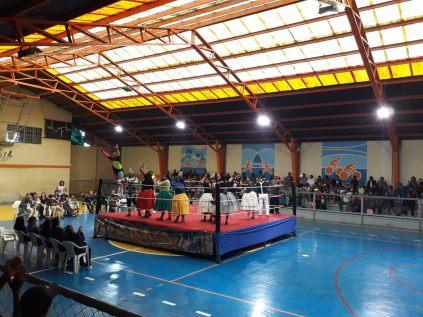 """""""Cholita Wrestling"""" à El Alto"""