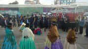 Musique et danse traditionnelle à El Alto