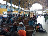 De retour à la gare des bus de La Paz