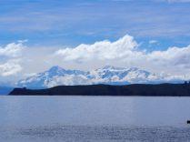 La cordillère royale qui borde le lac Titicaca