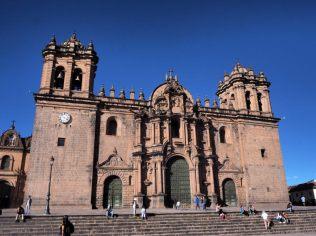 Sur la Plaza Del Armas (Cathédrale), Cuzco