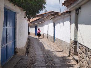 Dans les rues de Cuzco
