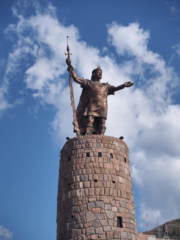 Statue Inca à Cuzco