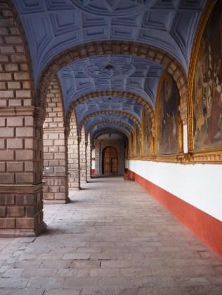 Cloître du monastère Santo Domingo, Cuzco