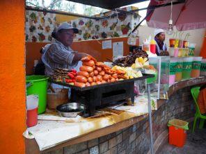 Stand de nourriture dans la rue