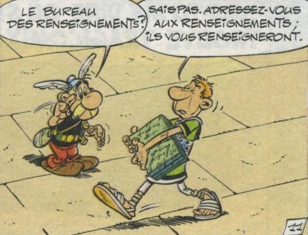 Astérix légionnaire, 1966, planche 11, case 9 (Goscinny/Uderzo)