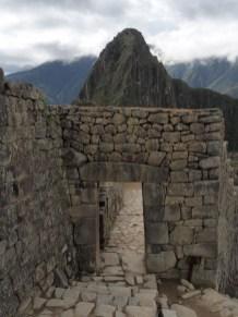 Entrée vers la zone urbaine du Machu Picchu