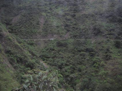 La piste de Santa Maria à Hydroelectrica
