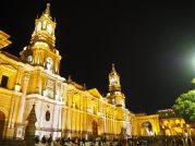 La Cathédrale Notre Dame à Arequipa