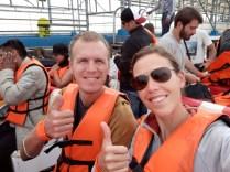 Sur le bateau en direction des Îles Ballestas