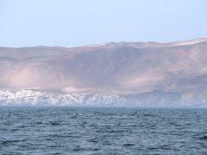 Vue sur la cote désertique de la réserve nationale de la péninsule de Paracas