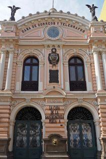Casa de Correos y Telegrafos (poste centrale de la ville), Lima