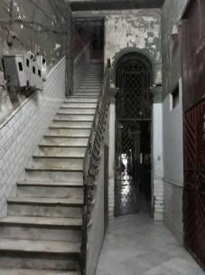 Entrée d'immeuble à La Havane