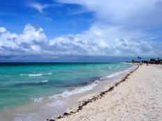 La plage magnifique de Cayo Coco