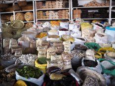Au marché, Pérou