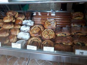Patisseries d'une boulangerie française au Machu Picchu