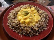 Quinoa et son accompagnement