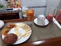 Petit Déjeuner à la Casa - La Havane