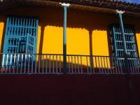 Devanture de maison à Trinidad