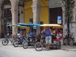 Dans les rues de la Havane