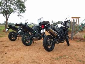 Versys 650 Tiger 800 Ride Together