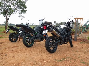 Versys 650 Tiger 800 Ride Together