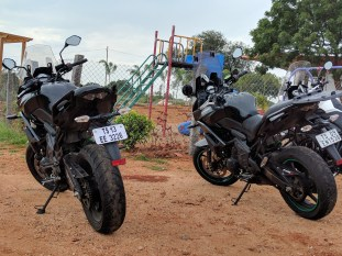 Two Versys 650 India Highway Ride 2