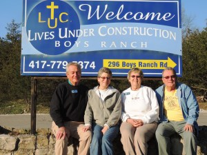 SOWERs for the month- - - -Don and Jenny and Dan and Nancy Ragatz