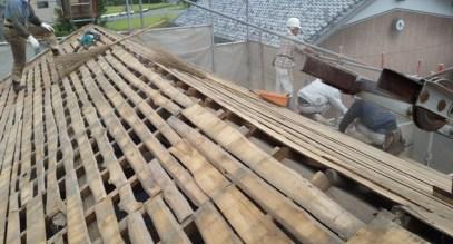 屋根瓦 修理 葺き替え
