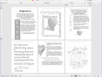 2Screenshot of Love - Art Journal Workshop