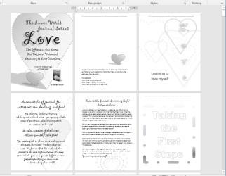 Screenshot of Love - Art Journal Workshop