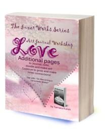 3D Additional Pages Love Art Journal Workshop 300 dpi transparent background