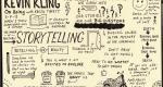 Sketchnotes of Kevin Kling interview