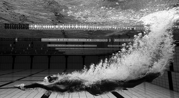 Matt Welsh of Australia during a feature shoot at Somerset College Pool May 7, 2004 on the Gold Coast, Australia. (Photo by Adam Pretty/Getty Images)