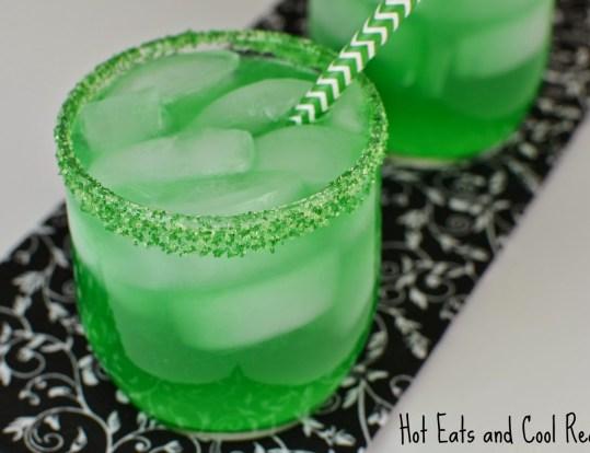 Leprechaun Kiss Green Cocktail St. Patricks Day Recipe