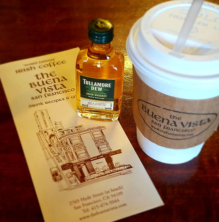 The Buena Vistsa San Francisco Irish Coffee To go
