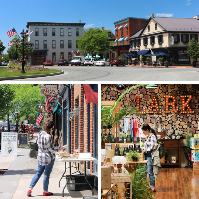 Shopping In Downtown Historic Gettysburg
