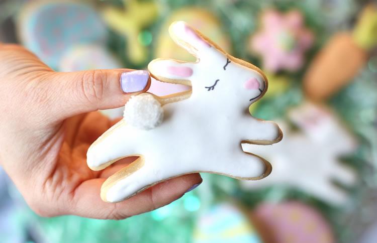 Easter No Sugar Sugar Cookies