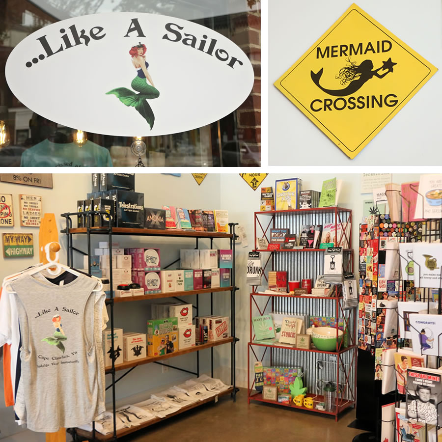 Like A Sailor Shop Interior