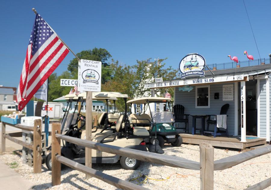 Cape Charles Golf Cart Rentals
