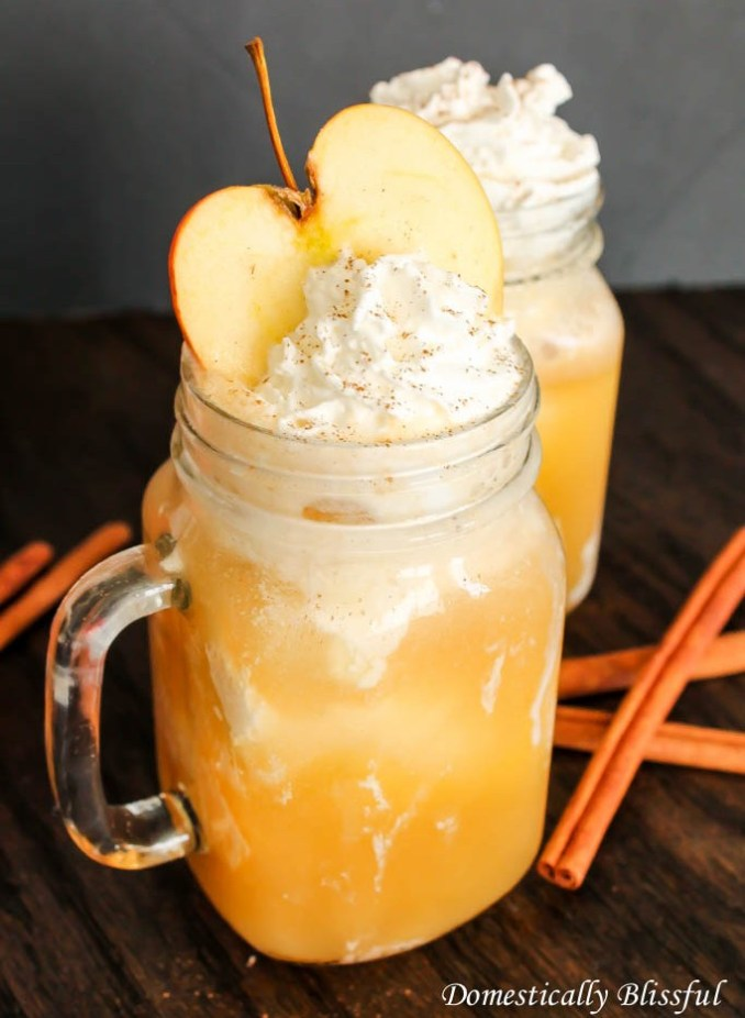 Apple-Cider Ice-cream Floats recipe