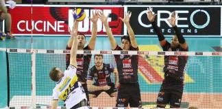 Civitanova, de Yoandy Leal, enfrenta o Milano pela Superliga Italiana. Foto: Civitanova